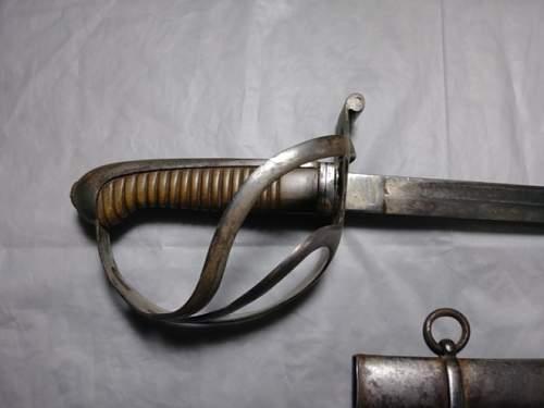 WW1 Austrian Sword?? Sword ID Help
