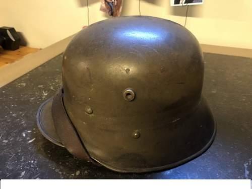 Austria helmet ww1, please help!