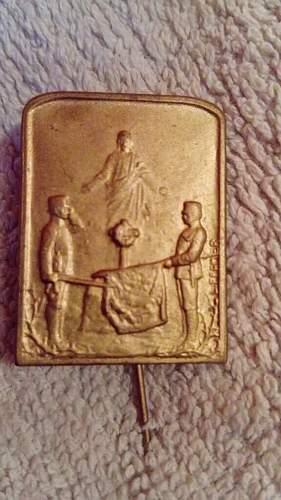 ww1 Austro-Hungarian cap badge