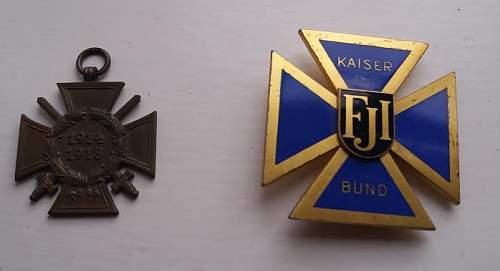 Austro-Hungarian Patriotic badge- Opinions sought
