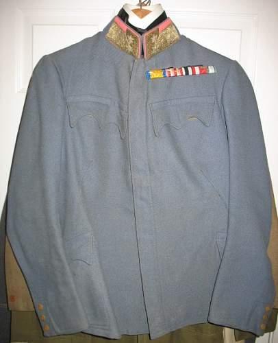 Austrian OberstLt Pike-gray tunic