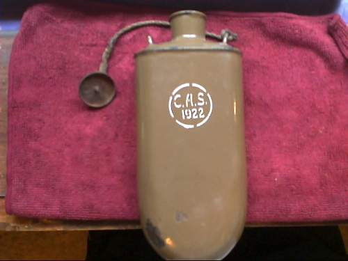 Austro-Hungarian Canteen Used Post-War?