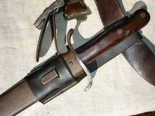 Kuk Faschinenmesser Modell 1915