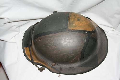 Opinions on an Austrian m16 camo helmet