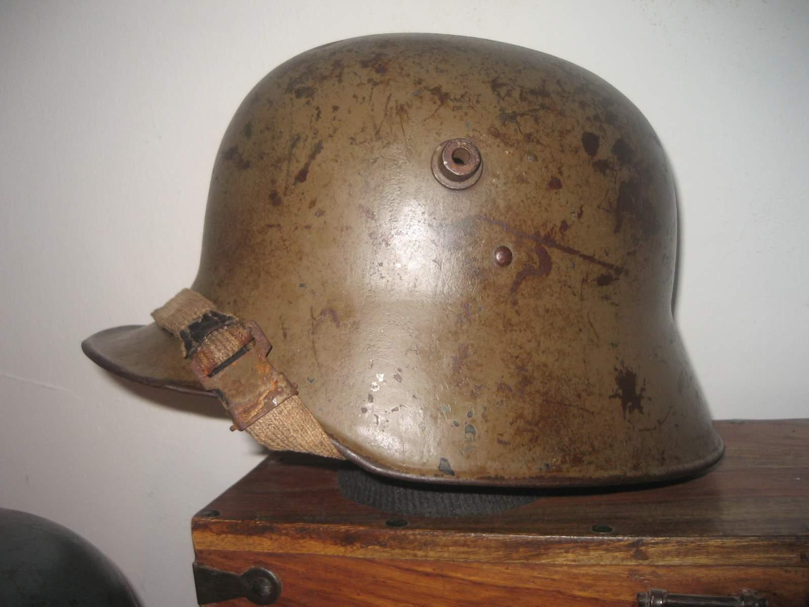 German wwi helmet