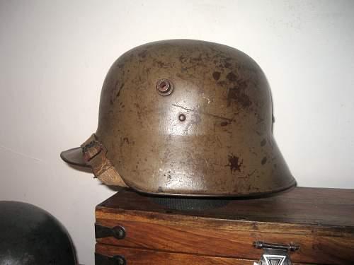 "My new Austrian M16 ""Berndorf' helmet"