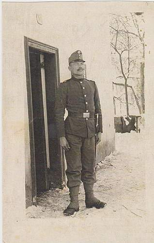 my grand-grandfather serving with Austro-Hungarian forces