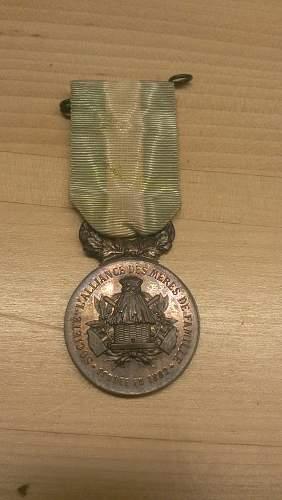 Pre World War 1 Austrian Medals