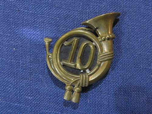 Ww1 austro hungarian shako jager horn badge ?