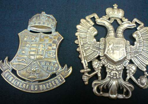 Austro-Hungarian cap badge