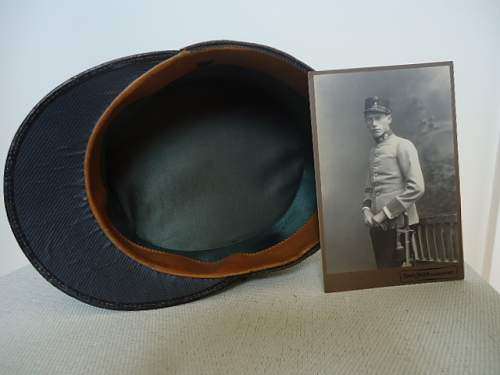 Austro-Hungarian Infantry Officers Service Cap (I think)