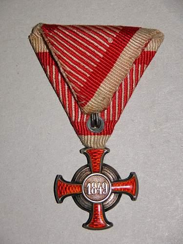 Silver Cross of Merit (Silbernes Verdienstkreuz) by V. Mayer's Söhne of Vienna