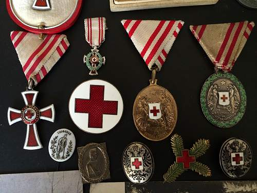 KuK RED CROSS & WOUNDED SOLDIERS COLLECTION