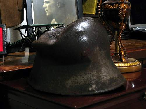 WWI Austrian Relic Helmet from Monte Grappa, Italy