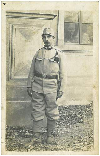 Identification of an Austro-hungarian soldier