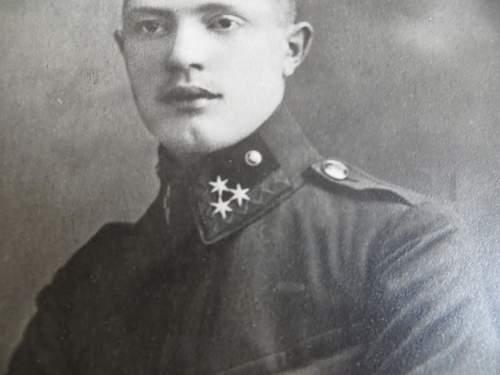 Austo- Hungarian cadet uniform photo