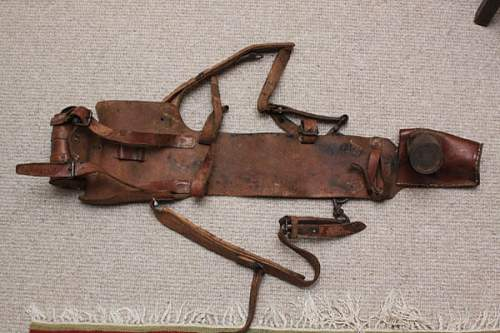Mystery Leather harness and tools