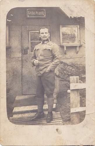 Austro Hungarian uniform and rank