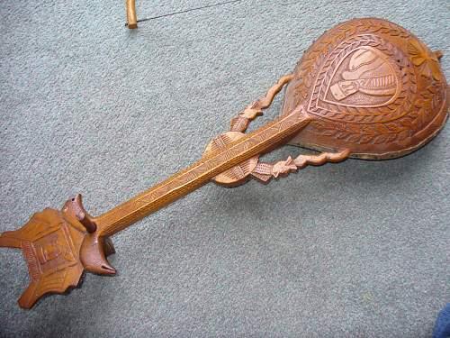 Austro hungarian POW mandolin
