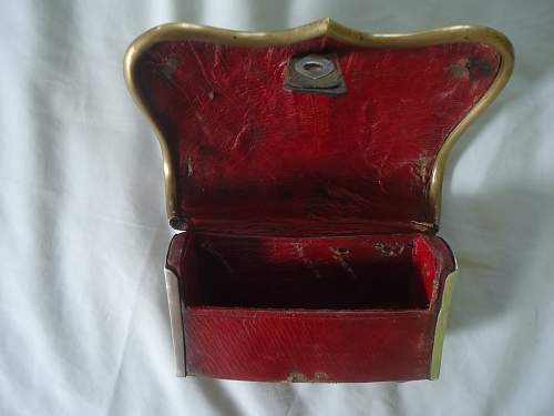 Cartridge Box for Officers of the Mounted Troops