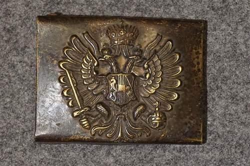Austrian Belt Buckle