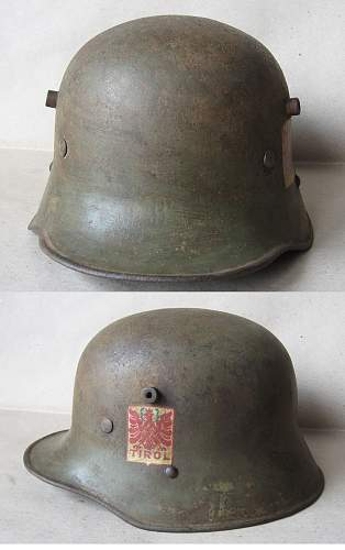Austrian Transitional Helmet?