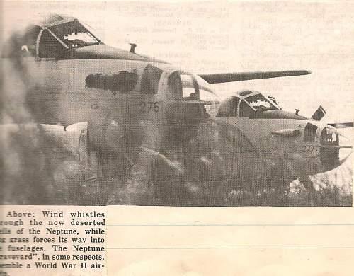 RAAF Neptune retirement 1977 news clippings