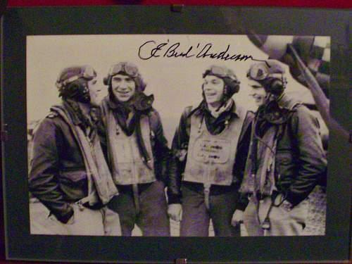 P-51 Pilot Ace Autographs