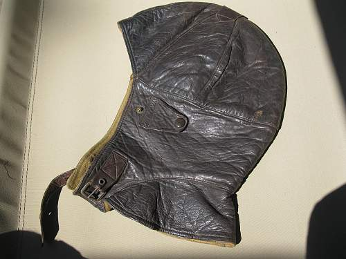 Click image for larger version.  Name:WWI Flight helmet 001.jpg Views:2348 Size:238.1 KB ID:106587