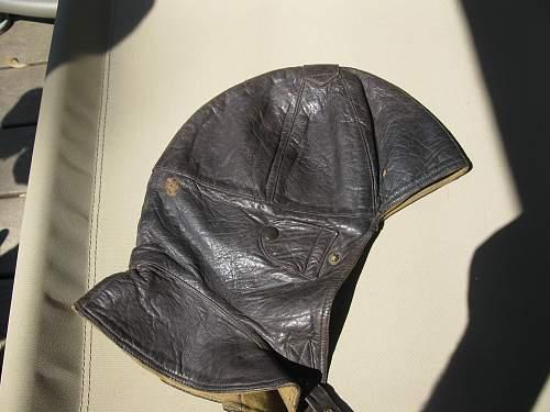 Click image for larger version.  Name:WWI Flight helmet 002.jpg Views:1378 Size:240.5 KB ID:106593