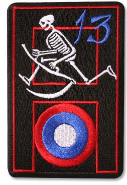 bogus 13th Aero patch