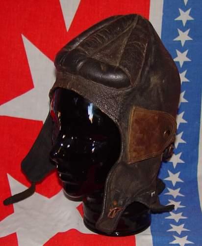 World War 1 flight helmet query