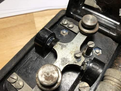 Morsetaste Air News - what was that? (Luftnachrichten Morse Button)