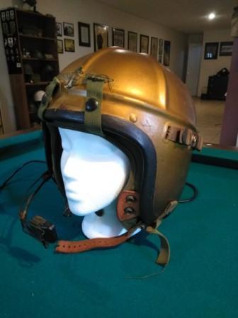 Korean War H Series Pilots Helmet