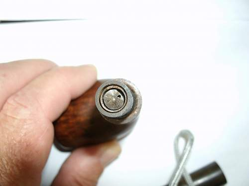 RAF pipe with hidden compass.
