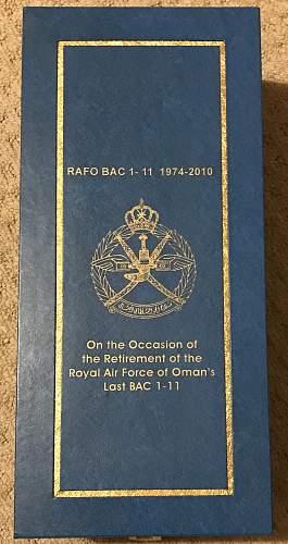 Presentation Royal Airforce of Oman BAC 1-11 RPM indicator