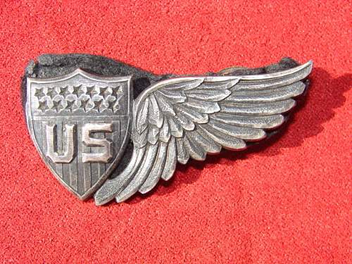 """Fake? """"Clipped"""" WWI JR Gaunt RMA Wing at Auction..."""