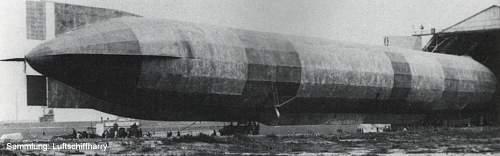 Luftschiffmaat Holz