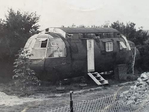 Horsa glider caravan
