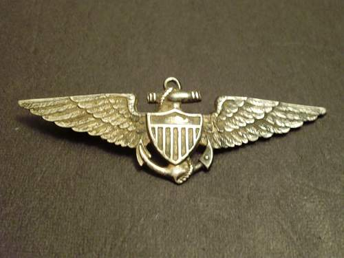 US Navy Pilot Wing !