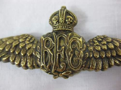 Help with WW1  RFC wing?