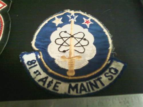 USAF flight patches