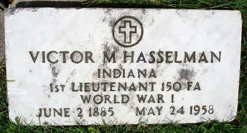 LT VICTOR M. HASSELMAN-88th AERO