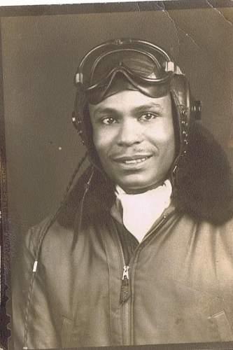 Black US Pilot? Possible Post War? Robert Ashby or Tuskegee?
