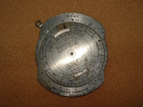 RCAF Navigation Computer