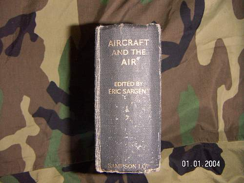 1942 published  Aircraft and the Air