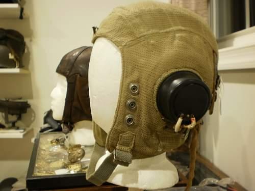 """Raf type """"e"""" flying helmet"""