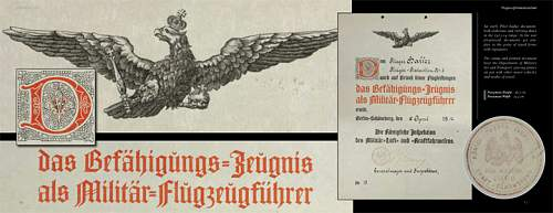 Imperial Sky: Flight Badges of Imperial Germany & Her Allies