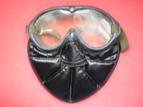 Polaroid B-8 goggles and mask