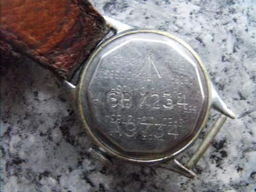 WW2 Pilots A11 watch